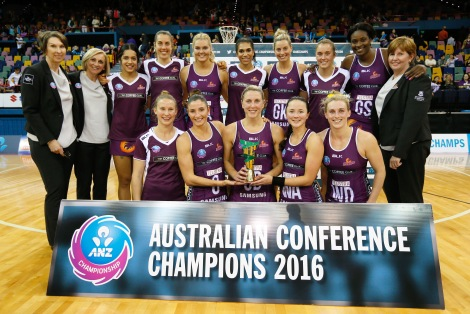 2016 ANZC CompetitionAustralian Conference Grand Final Qld Firebirds v NSW Swifts